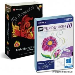 Wilcom E2 + Pe Design10 + Matrizes - OFERTA!!