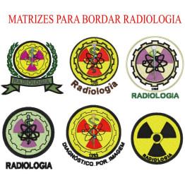 Matrizes De Bordado Radiologia- 8 Matrizes
